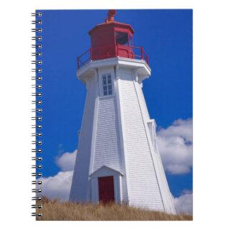 NA, Canadá, Nuevo Brunswick, isla de Campobello. 3 Libro De Apuntes Con Espiral