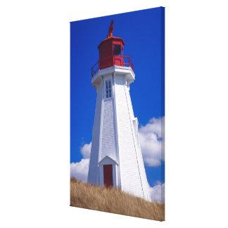 NA, Canadá, Nuevo Brunswick, isla de Campobello. 3 Lona Envuelta Para Galerias