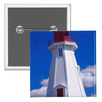 NA, Canadá, Nuevo Brunswick, isla de Campobello. 3 Pin Cuadrada 5 Cm