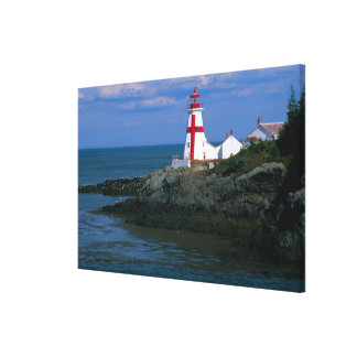 NA, Canadá, Nuevo Brunswick, isla de Campobello. 4 Impresión En Lona