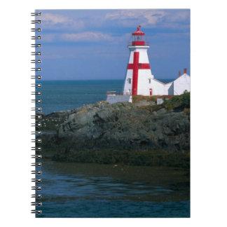 NA, Canadá, Nuevo Brunswick, isla de Campobello. 4 Libro De Apuntes