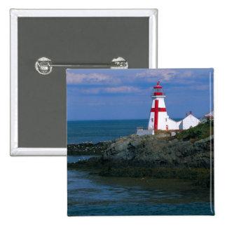 NA, Canadá, Nuevo Brunswick, isla de Campobello. 4 Pin Cuadrada 5 Cm