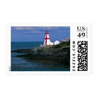 NA, Canadá, Nuevo Brunswick, isla de Campobello. 4 Sello