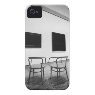 NA, Canada, Ontario, Ottawa. Black paintings and Case-Mate iPhone 4 Case