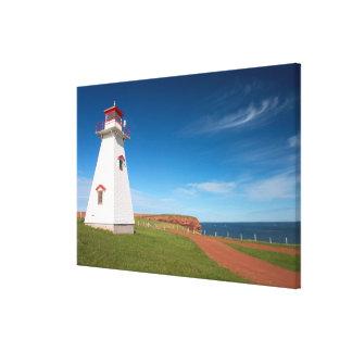 NA, Canada, Prince Edward Island. Cape Tryon Canvas Print