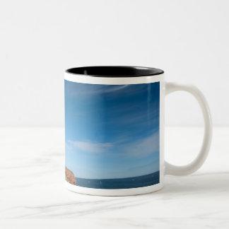 NA, Canada, Prince Edward Island. Cape Tryon Two-Tone Coffee Mug