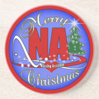 NA CHRISTMAS COASTERS -  NURSING ASSISTANT