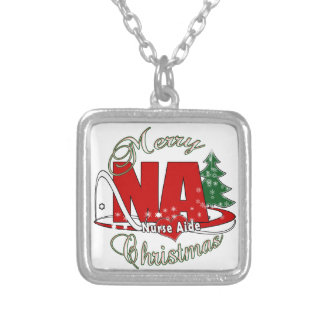 NA CHRISTMAS NURSE AIDE PERSONALIZED NECKLACE
