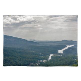 na del paisaje de Carolina del Norte del señuelo Mantel Individual