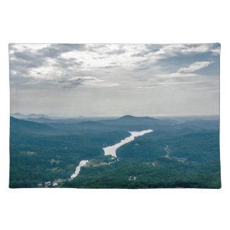 na del paisaje de Carolina del Norte del señuelo Manteles Individuales