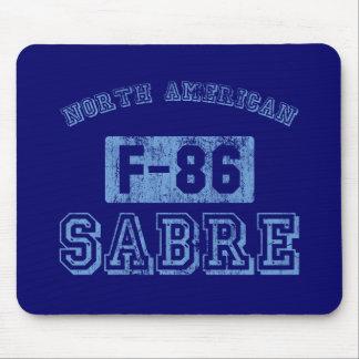 NA F-86 Sabre - BLUE Mouse Pad