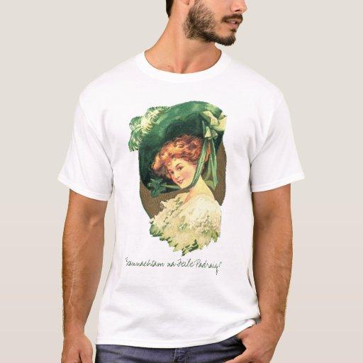 """Na Feile Padraig de Beannachtam!"" Camiseta"