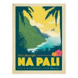 Na hermoso Pali, Hawaii de la visita Tarjetas Postales