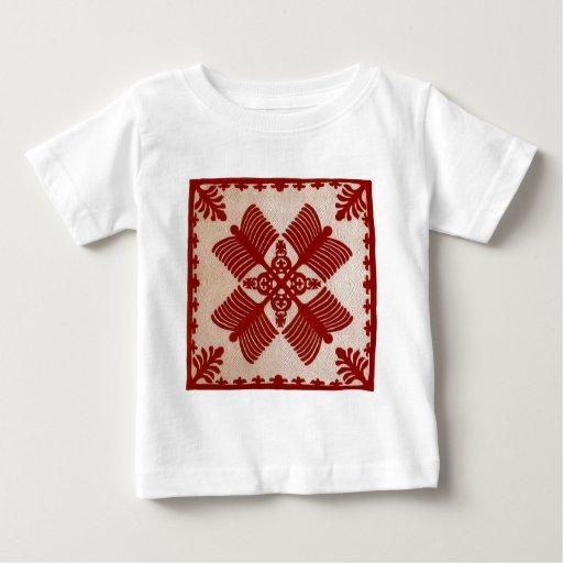Na Kalaunu Me Na Kāhili, quilt Baby T-Shirt