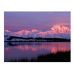 NA, los E.E.U.U., Alaska, Denali NP, el monte Postal