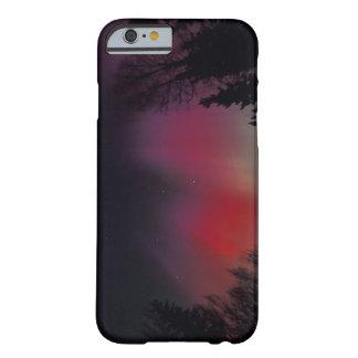 NA, los E.E.U.U., Alaska, Fairbanks. Cortinas de Funda De iPhone 6 Barely There
