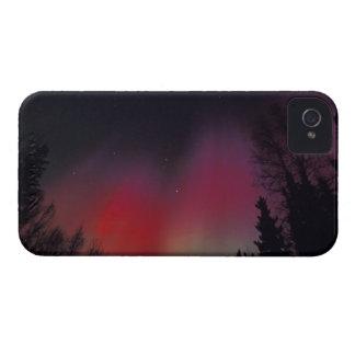 NA, los E.E.U.U., Alaska, Fairbanks. Cortinas de Case-Mate iPhone 4 Fundas