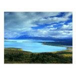 NA, los E.E.U.U., Alaska, Katmai NP, lago Naknek. Postales