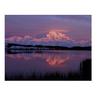 NA, los E.E.U.U., Alaska. Parque nacional de Denal Tarjetas Postales