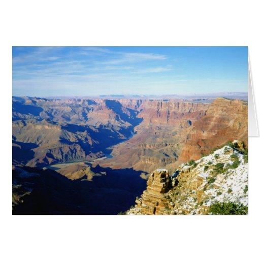 NA, los E.E.U.U., Arizona. Parque nacional del Gra Felicitación
