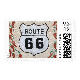 NA, los E.E.U.U., Arizona, placa de calle de la Timbres Postales