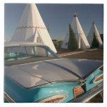 NA, los E.E.U.U., Arizona, ruta 66, tienda india 2 Azulejo Cuadrado Grande