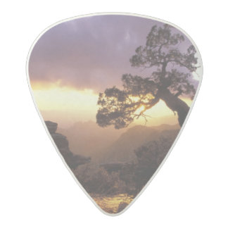 NA, los E.E.U.U., Arizona, Tucson, puesta del sol Púa De Guitarra Acetal