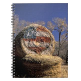 NA, los E.E.U.U., Colorado, Gunnison. Rollo patrió Libro De Apuntes Con Espiral