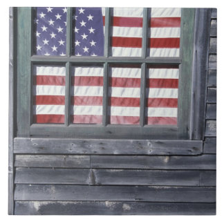 NA, los E.E.U.U., Maine, isla de Georgetown. Bande Azulejo Cuadrado Grande