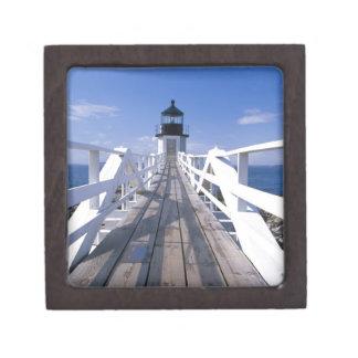 NA, los E.E.U.U., Maine, puerto Clyde.  Punto 2 de Caja De Regalo De Calidad