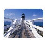 NA, los E.E.U.U., Maine, puerto Clyde.  Punto 2 de Imán De Vinilo