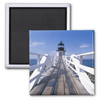 NA, los E.E.U.U., Maine, puerto Clyde.  Punto 2 de Imán Cuadrado