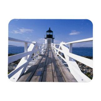 NA, los E.E.U.U., Maine, puerto Clyde.  Punto 2 de Imanes De Vinilo