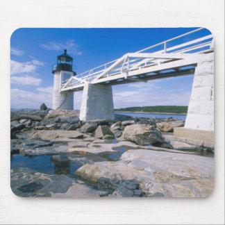 NA, los E.E.U.U., Maine, puerto Clyde.  Punto de M Alfombrillas De Ratones