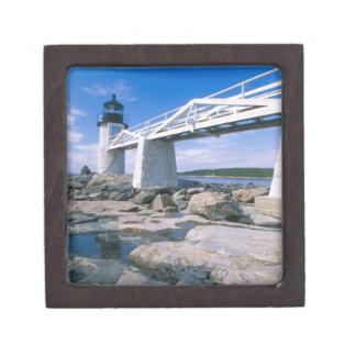 NA, los E.E.U.U., Maine, puerto Clyde.  Punto de M Caja De Regalo De Calidad