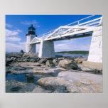 NA, los E.E.U.U., Maine, puerto Clyde.  Punto de M Poster