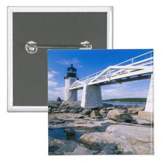 NA, los E.E.U.U., Maine, puerto Clyde.  Punto de M Pin Cuadrada 5 Cm