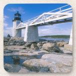 NA, los E.E.U.U., Maine, puerto Clyde.  Punto de M Posavaso