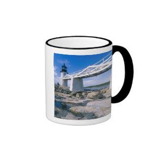 NA, los E.E.U.U., Maine, puerto Clyde.  Punto de M Taza De Café