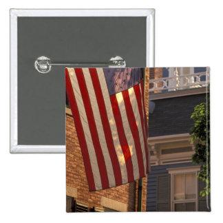 NA, los E.E.U.U., Massachusetts, isla de Nantucket Pin Cuadrada 5 Cm