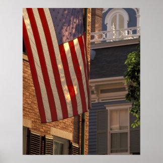 NA, los E.E.U.U., Massachusetts, isla de Nantucket Póster