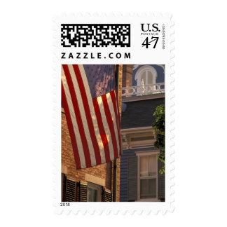 NA, los E.E.U.U., Massachusetts, isla de Timbre Postal