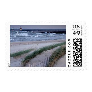 NA, los E.E.U.U., Michigan, el condado de Berrien, Timbres Postales
