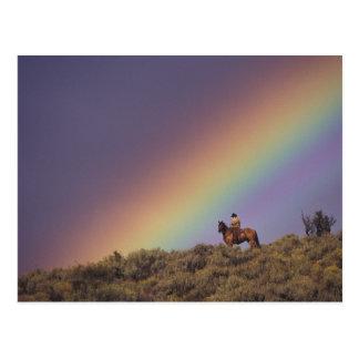 NA, los E.E.U.U., Oregon, Seneca, rancho de Postal