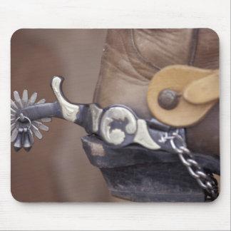 NA los E E U U Tejas bota de vaquero de Lubboc Alfombrilla De Ratón