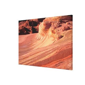 NA, los E.E.U.U., Utah, acantilados bermellones. Lona Envuelta Para Galerias