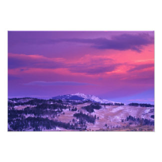 NA, los E.E.U.U., Wyoming, Yellowstone NP, valle d Cojinete