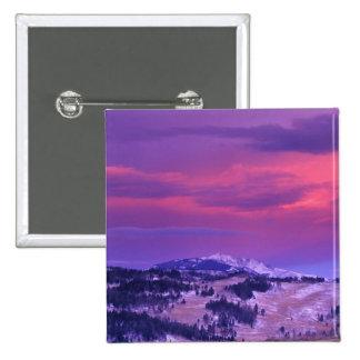 NA, los E.E.U.U., Wyoming, Yellowstone NP, valle d Pin Cuadrado