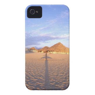 NA, Mexico, Cabo San Lucas, Beach Huts & Ocean iPhone 4 Case