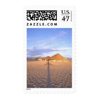 NA, Mexico, Cabo San Lucas, Beach Huts & Ocean Postage